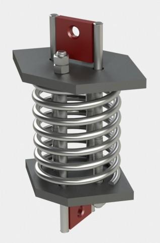 Блок пружинный для подвесок трубопроводов АЭС и ТЭЦ ОСТ 108.275.58