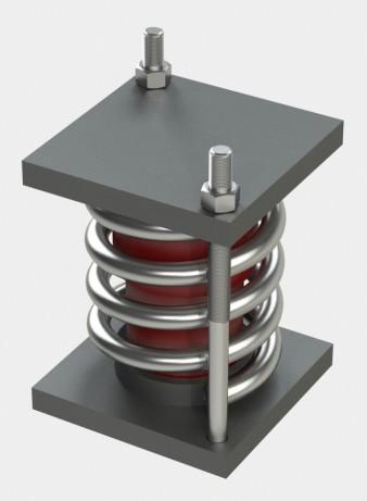 Блок пружинный для подвесок трубопроводов АЭС и ТЭЦ ОСТ 108.275.69