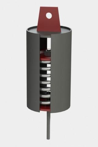 Блок пружинный подвесной ОСТ 24.125.111