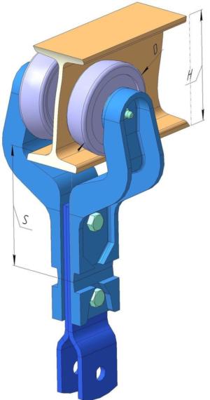 Цепь ЦПК-100 Каретка рабочая (ГН)