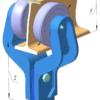 Цепь ГН-160 Каретка холостая (ПЦН)