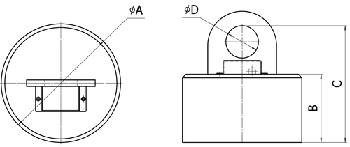 Круглые электромагниты для транспортировки заготовок из листовой стали