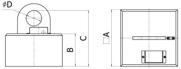 Прямоугольные грузоподъемные электромагниты для перемещения заготовок из листовой стали