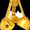 Грейферы трёхчелюстные канатные для подводного черпания