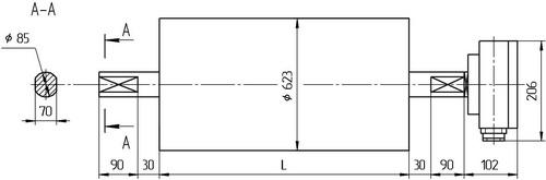 Мотор-барабан МБ6ПF