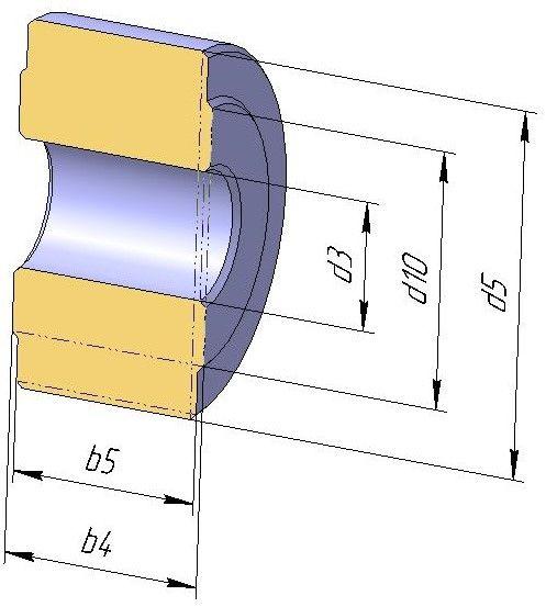 Ролики DIN 8169 для конвейерных цепей М56