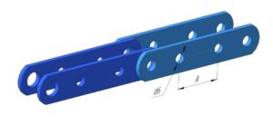 Тип 2.2 - специальные пластины без полки с двумя отверстиями